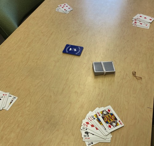 Want to play cards? Pinochle? Hand and Foot? Rummy, A friendly game of Poker??